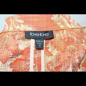bebe Jackets & Coats - Bebe Orange Blazer